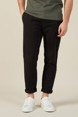 NEO ROGER REGULAR CHINO PANT  BLACK  hi-res