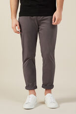 NEO ROGER REGULAR CHINO PANT  CHARCOAL  hi-res