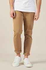 NEO ROGER REGULAR CHINO PANT  TOBACCO  hi-res