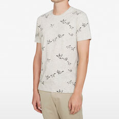FLYING DUCKS T-SHIRT  OATMEAL MARL  hi-res