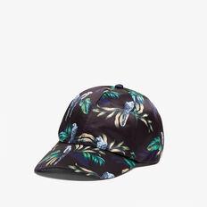 PARADISE PRINT CAP  BLACK/MULTI  hi-res