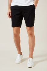 CHARLIE CHINO SHORT  BLACK  hi-res