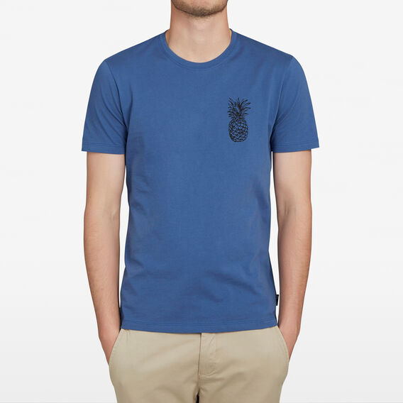 PINEAPPLE CHEST T-SHIRT  ROYAL BLUE  hi-res