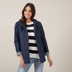 EVERYDAY RAINCOAT  NAVY  hi-res