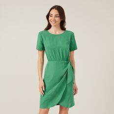 THE FRONT MINI DRESS  SPRING GREEN  hi-res