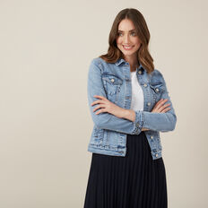 VINTAGE DENIM JACKET  LIGHT VINTAGE WASH  hi-res