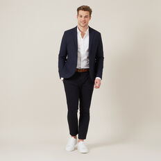 TAILORED SLIM STRETCH CHINO  MARINE BLUE  hi-res