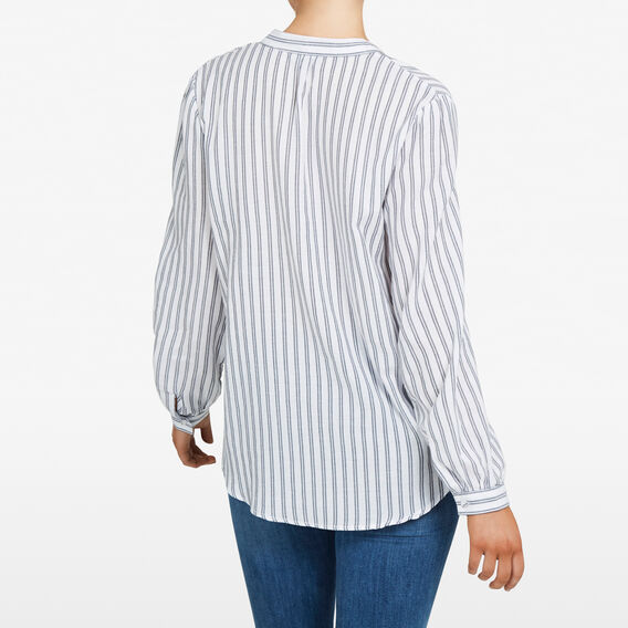 MINI STRIPE POPOVER  NOCTURNAL/SUMMER WHI  hi-res