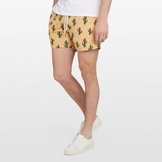 CACTUS SWIM SHORT  WASHED GOLD  hi-res