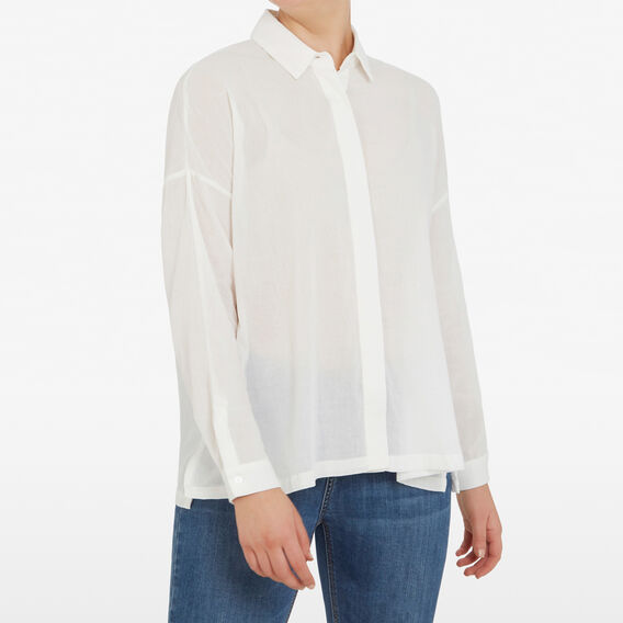 OVERSIZED SHIRT  OFF WHITE  hi-res