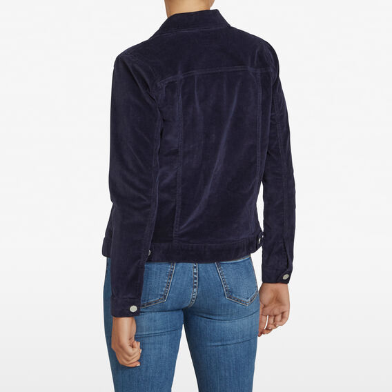 STRETCH CORD JACKET  NOCTURNAL  hi-res