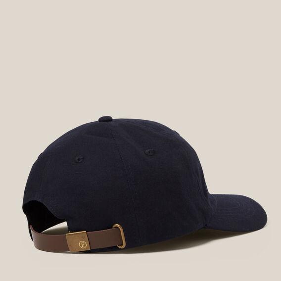 LION EMBROIDERED CAP  MARINE BLUE  hi-res