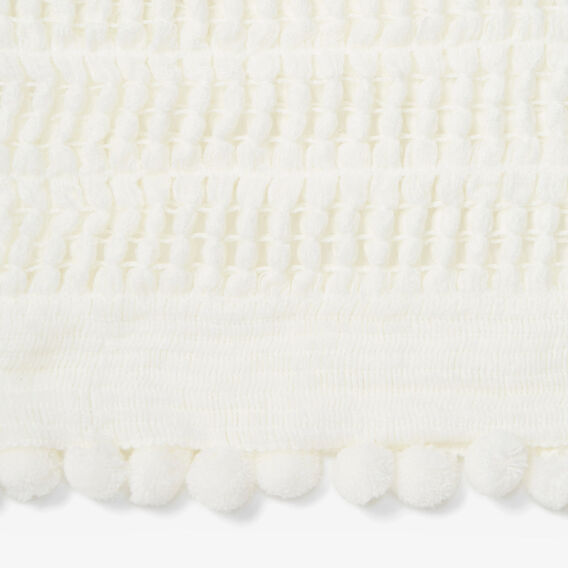 ENDLESS KNITTED SCARF  SUMMER WHITE  hi-res