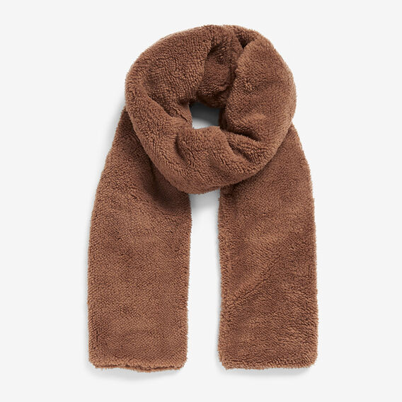 TEDDY OVERSIZED BLANKET SCARF  TOFFEE  hi-res