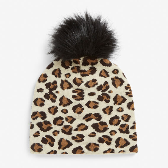 ANIMAL KNIT BEANIE  BLACK/MULTI  hi-res