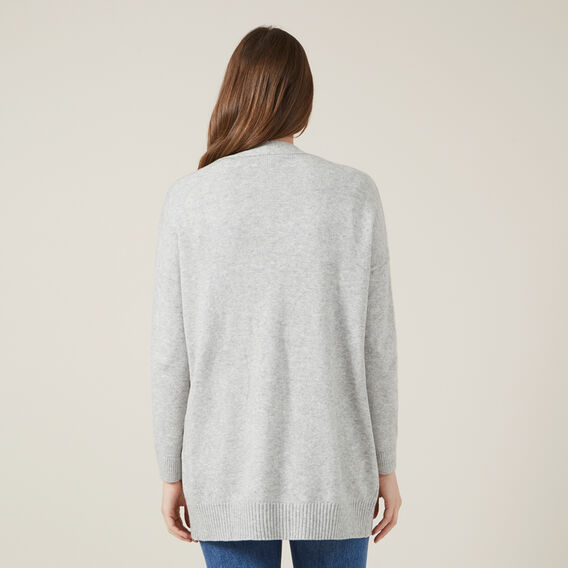 RELAXED CARDIGAN  GREY MARL  hi-res