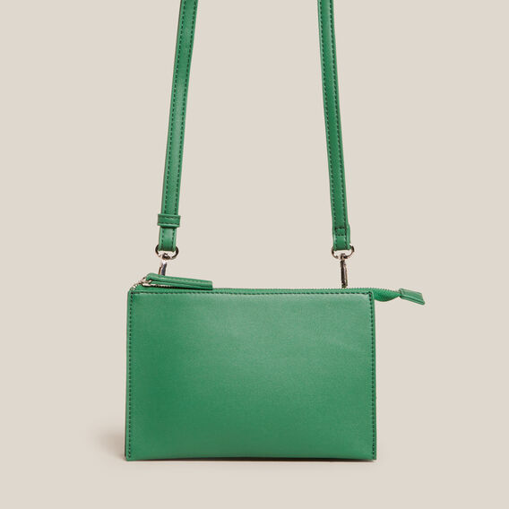 CROSS BODY CLUTCH  SPRING GREEN  hi-res