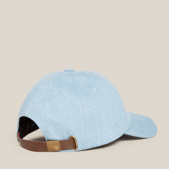 WASHED DENIM CAP  DENIM  hi-res