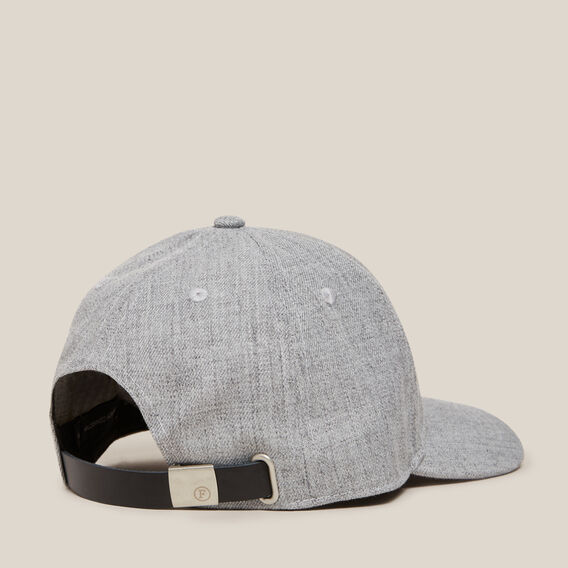 GREY TEXTURED CAP  GREY  hi-res