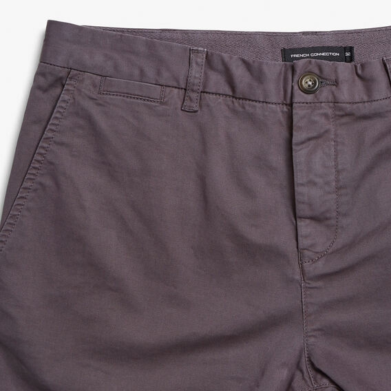 CHARLIE CHINO SHORT  CHARCOAL  hi-res