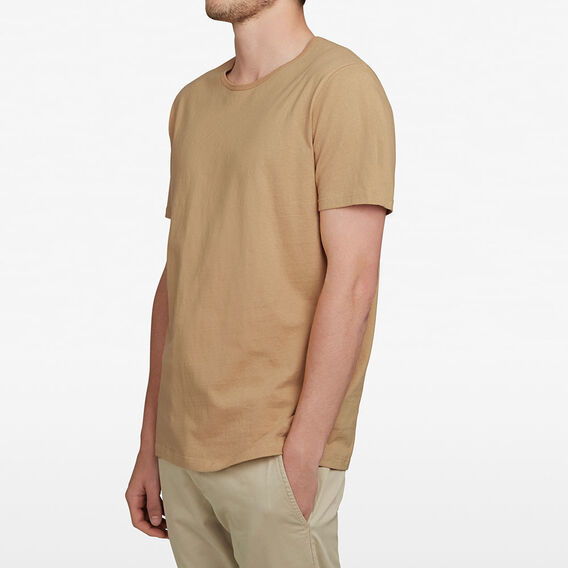 SLUB RELAXED FIT T-SHIRT  WASHED GOLD  hi-res