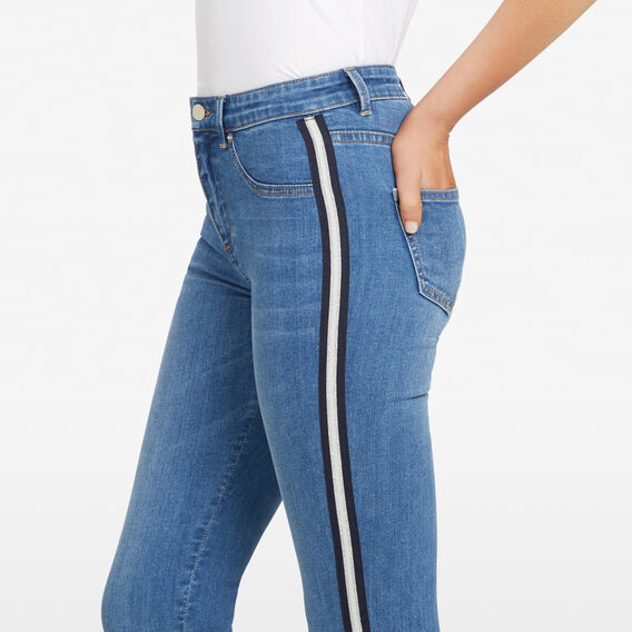 SIDE STRIPE JEAN  STONE WASH  hi-res
