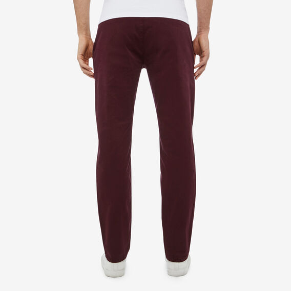 REGULAR FIT CHINO PANT  PLUM  hi-res