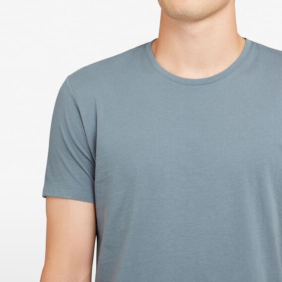 CLASSIC CREW NECK T-SHIRT  DARK TEAL  hi-res