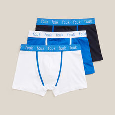 3PK FCUK BRIEFS  BLK/WHT/BLUE  hi-res