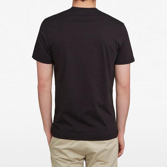 FCUK ARCHED T-SHIRT  BLACK  hi-res