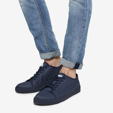 NAVY COMPASS COTTON SNEAKER  NAVY / NAVY  hi-res