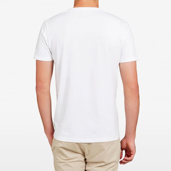 PANDA CREW NECK T-SHIRT  WHITE  hi-res