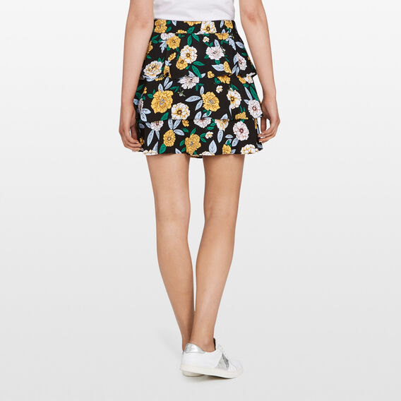 FLIPPY WILD FLOWER SKIRT  MULTI  hi-res