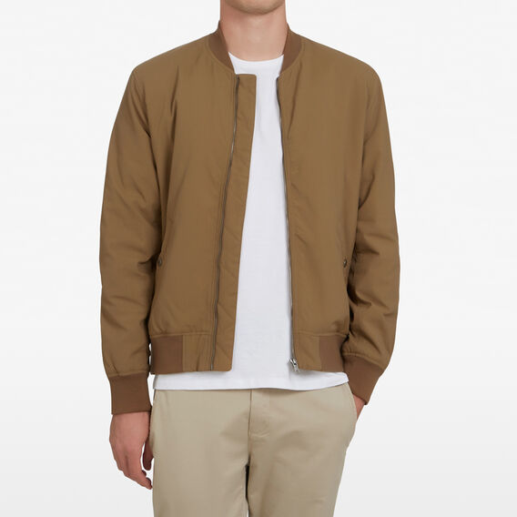 BOMBER JACKET  WASHED TOBACCO  hi-res