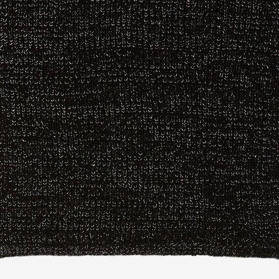 BLACK LUREX SCARF  BLACK  hi-res