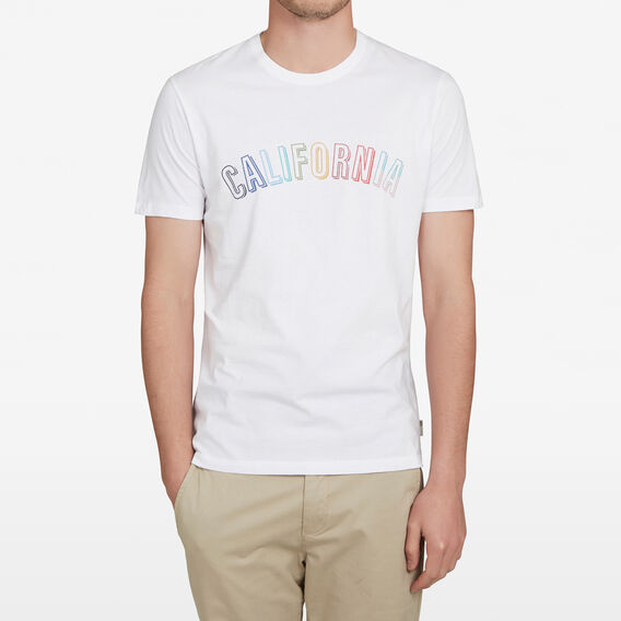 CALIFORNIA T-SHIRT  WHITE  hi-res