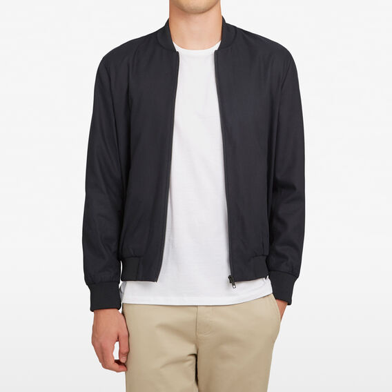 LIGHTWEIGHT BOMBER JACKET  MARINE BLUE  hi-res