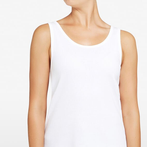 ESSENTIAL TANK  SUMMER WHITE  hi-res