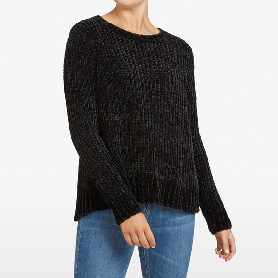 CHENILLE JUMPER  BLACK  hi-res