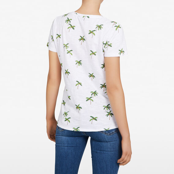 COCONUT TREE TEE  SUMMER WHITE/MULTI  hi-res