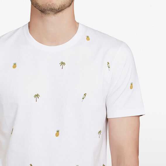 MINI PARROT T-SHIRT  WHITE  hi-res