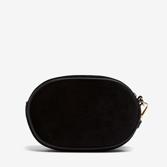 VELVET CLUTCH  BLACK  hi-res