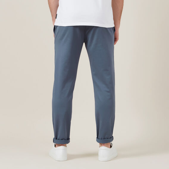 SLIM FIT STRETCH CHINO PANT  SLATE BLUE  hi-res