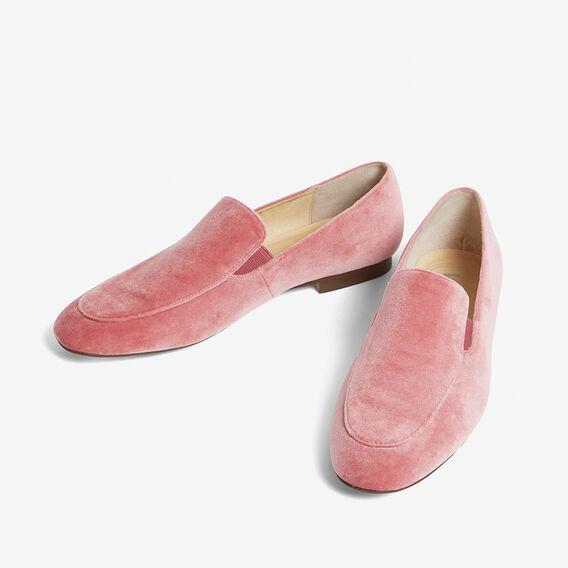VELVET LOAFER  ROSE PINK  hi-res