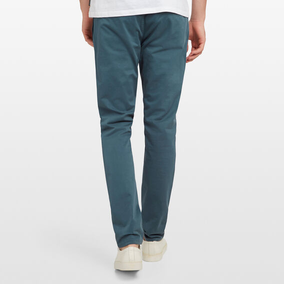 SLIM FIT STRETCH CHINO PANT  PETROL  hi-res