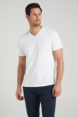 CLASSIC V-NECK T-SHIRT  WHITE  hi-res