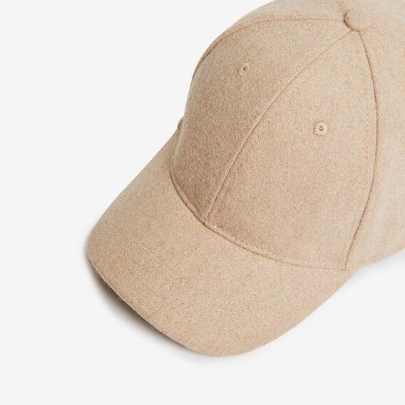 OATMEAL FELT CAP  OATMEAL  hi-res
