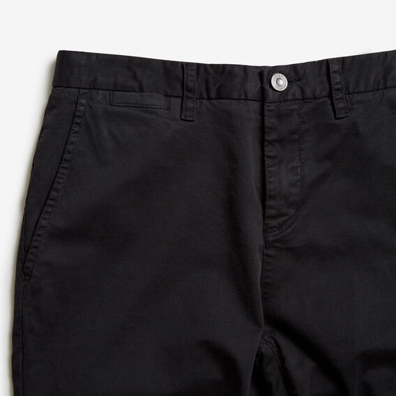 REGULAR FIT STRETCH CHINO PANT  BLACK  hi-res