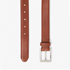 LEATHER FORMAL BELT  TAN  hi-res