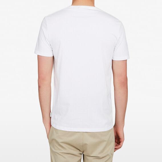 PELICAN CHEST T-SHIRT  WHITE  hi-res